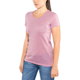 Icebreaker Sphere SS Low Crew Shirt Women opal heather